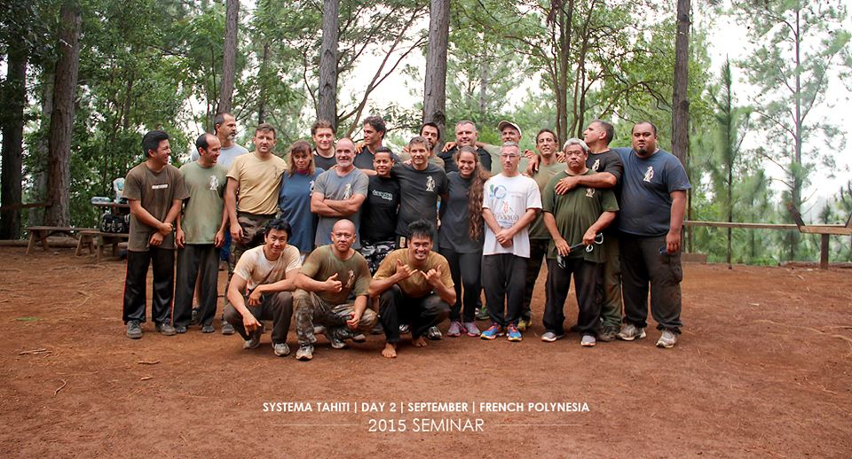 Groupe séminaire outdoor - Systema 2015